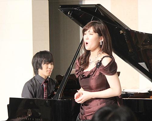 アフタヌーンコンサート 野々村彩乃(ソプラノ)&高橋優介(ピアノ)のイメージ