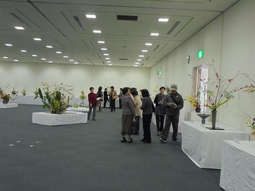 平成29年度 第48回防府市民文化祭華道展のイメージ