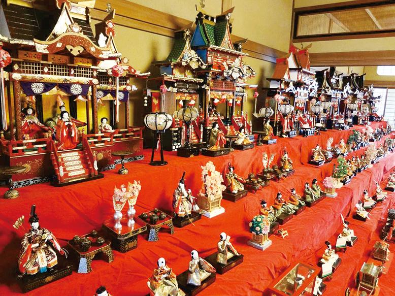 萩城下の古き雛たちのイメージ
