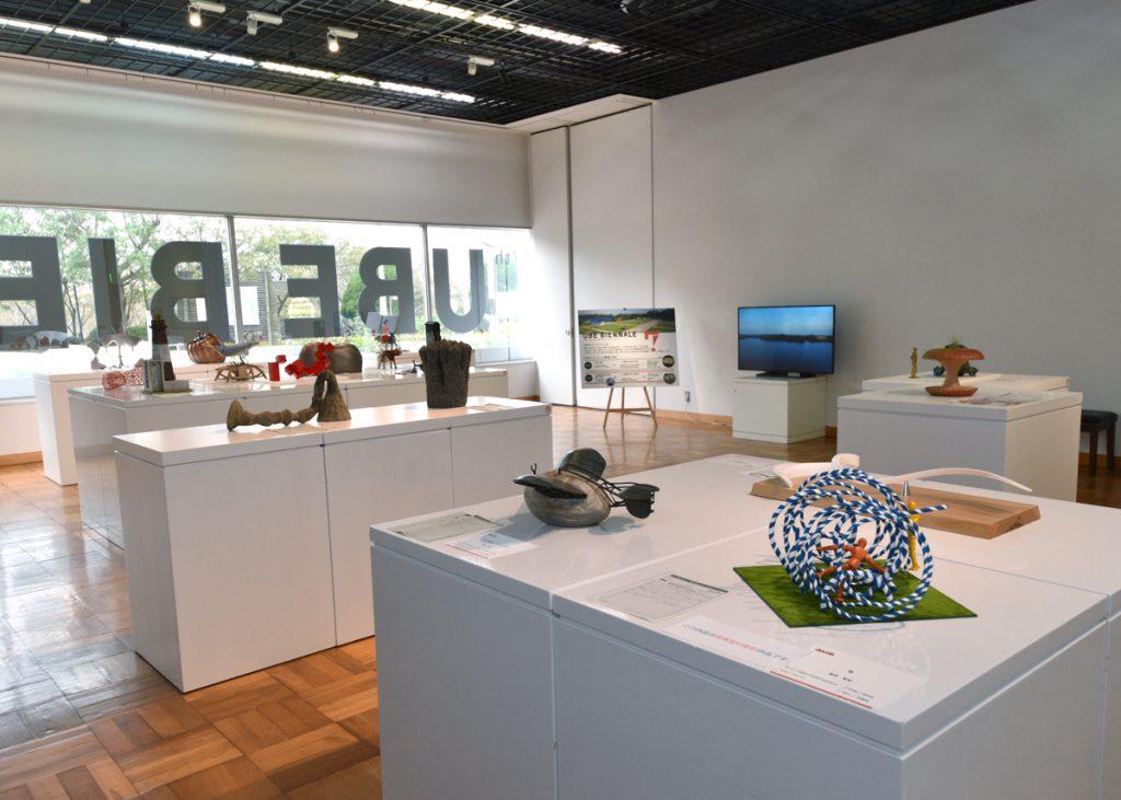 第28回UBEビエンナーレ(現代日本彫刻展)応募作品展 野外彫刻のための作品模型とドローイング展のイメージ