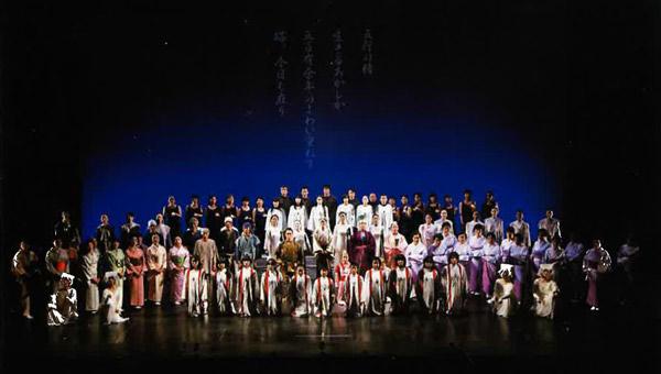 山口文化協会創立50周年記念事業 創作公演「BASARA~未来へ・・・」のイメージ