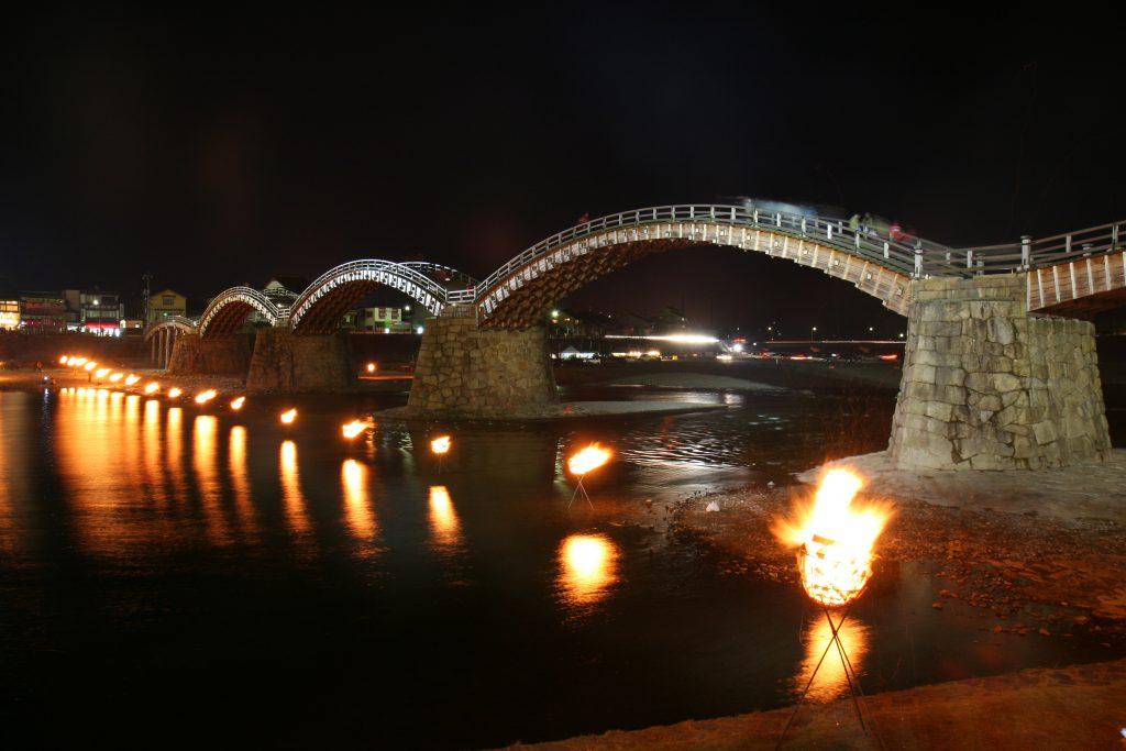 錦帯橋芸術祭のイメージ