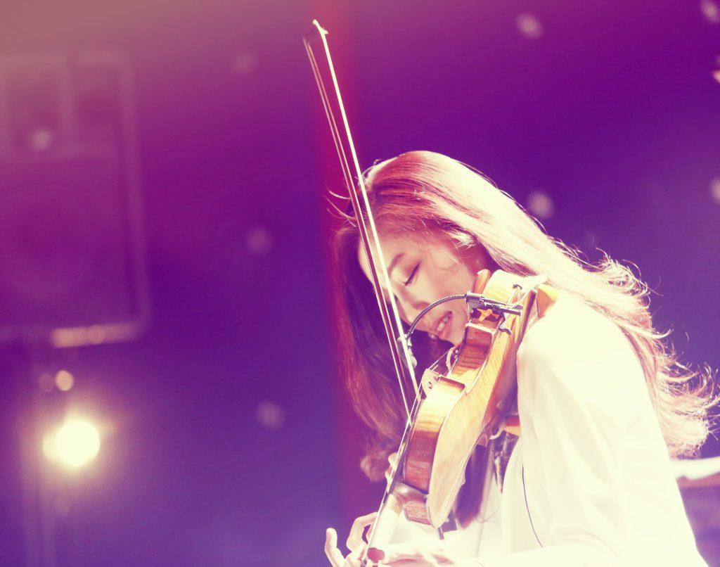 末延麻裕子ヴァイオリンコンサートのイメージ