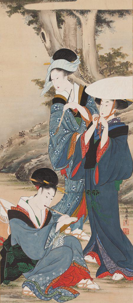 光ミュージアム所蔵 美を競う 肉筆浮世絵の世界のイメージ