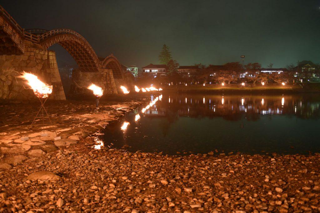 錦帯橋芸術祭2021のイメージ