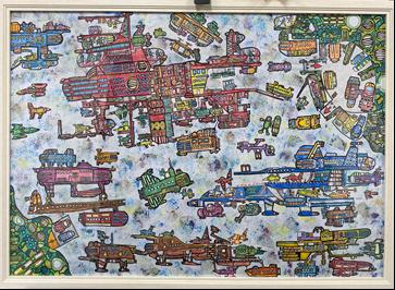 第27回山口県障害者芸術文化祭応募作品展示会のイメージ